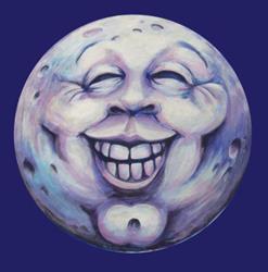 Art: Georgie's Moon by Artist Madeline  Carol Matz