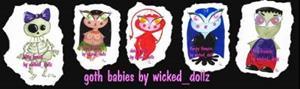 Detail Image for art Little purple vampire