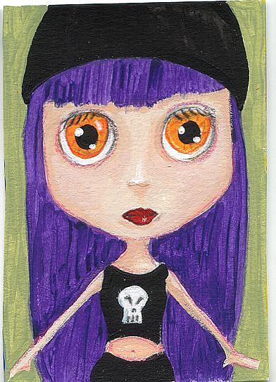 Art: Gothic Punk Blythe Grlz by Artist Noelle Hunt