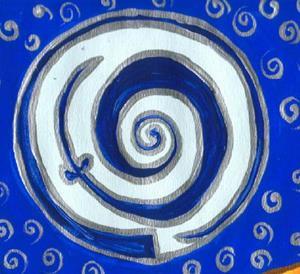Detail Image for art Spiral fertility Goddess