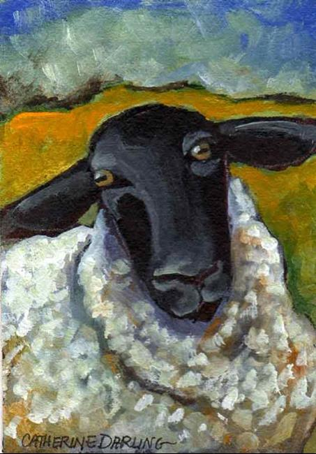 Art: Ewe-ser Friendly by Artist Catherine Darling Hostetter