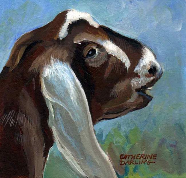 Art: Goaty by Artist Catherine Darling Hostetter