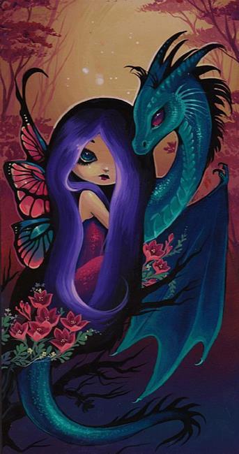 Art: Lovely Companions by Artist Nico Niemi