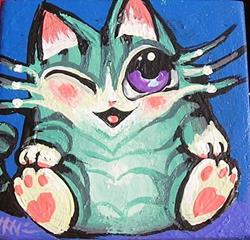 Art: CutieKat by Artist Nico Niemi