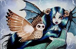 Art: Tria Noctuallia by Artist Nico Niemi