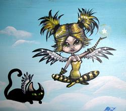 Art: Lil' Angel by Artist Nico Niemi