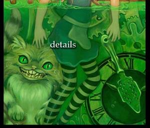 Detail Image for art Steampunk Alice in Wonderland:  Alice in Absinthe