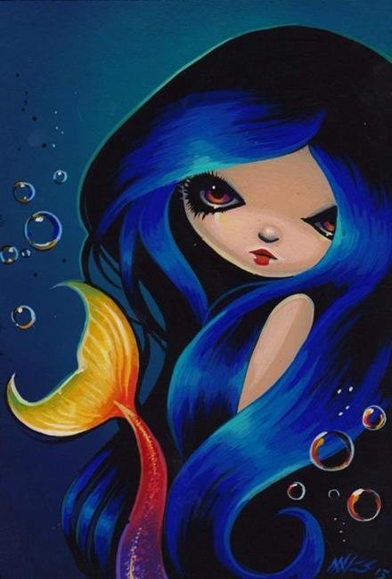 Art: Mermaid Ember by Artist Nico Niemi