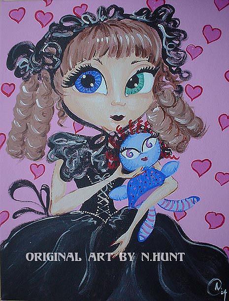 Art: Noir inspired by Artist Noelle Hunt