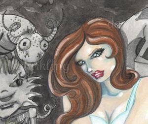 Detail Image for art Dead Monster Bouquet
