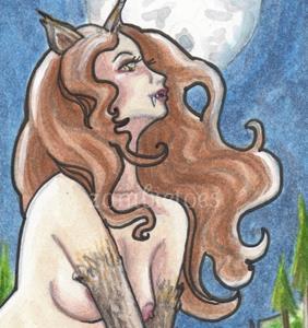 Detail Image for art Midnight Monster- Werewolf