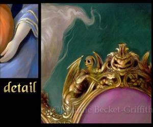 Detail Image for art Les Vampires: Lanterne-Citrouille