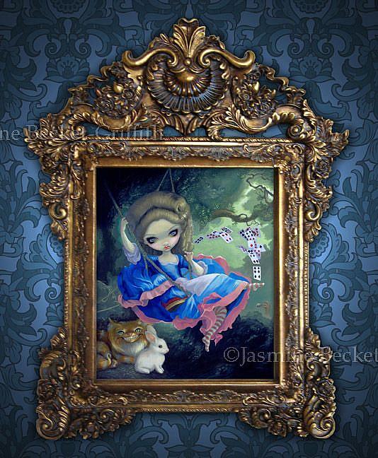Alice in Fragonard\'s Swing\