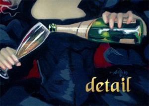 Detail Image for art Have Some Champagne ORIGINAL