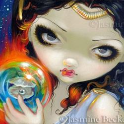 Art: Faces of Faery 181 - original custom painting by Jasmine Ann Becket-Griffith