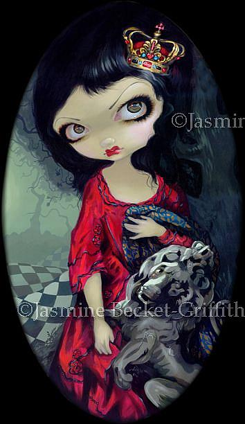 Red Queen (Original from Looking-Glass Queens) - by Jasmine Ann