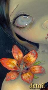 Detail Image for art Tiger Lily, Tiger Nautilus - ORIGINAL PAINTING