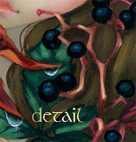 Poisonous Beauties 10 Virginia Creeper Jasmine Becket-Griffith CANVAS PRINT art
