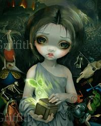 Art: Pandora by Artist Jasmine Ann Becket-Griffith