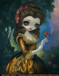 Art: Princess Belle's Royal Portrait - ©Disney by Artist Jasmine Ann Becket-Griffith