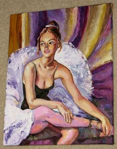 Detail Image for art Resting Ballerina