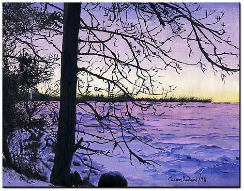 Art: Winter Solstice by Artist Caron Wiedrick
