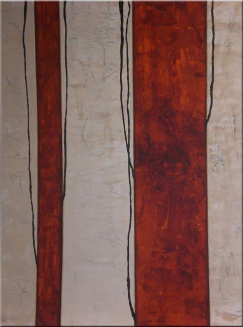 Art: ORIGINAL abstract PAINTING MODERN Art by Artist Nataera