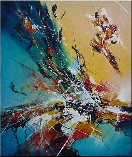 ORIGINAL ABSTRACT PAINTING , MODERN ART - by Nataera from ...