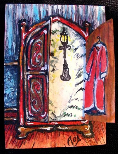 Art: ACEO Theme Week: 'Welcome to Narnia' by Artist Patience
