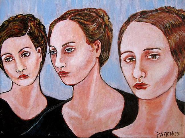 Art: 'Step Up to the Barre', for the 2/2011 EBSQ 'Art of the Dance' Exhibit by Artist Patience