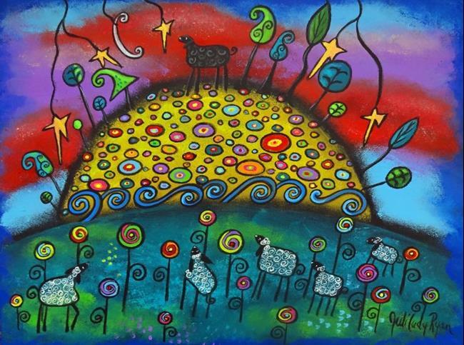 Art: Celebrating The Black Sheep II by Artist Juli Cady Ryan