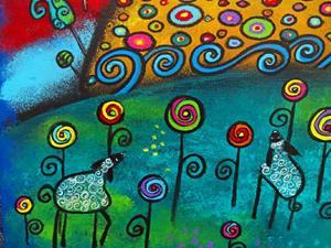 Detail Image for art Celebrating The Black Sheep II