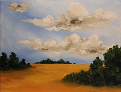 Art: Another Dry Season by Artist Windi Rosson