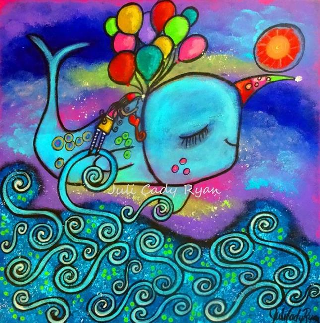 Art: Love Makes Your Heart Fly by Artist Juli Cady Ryan
