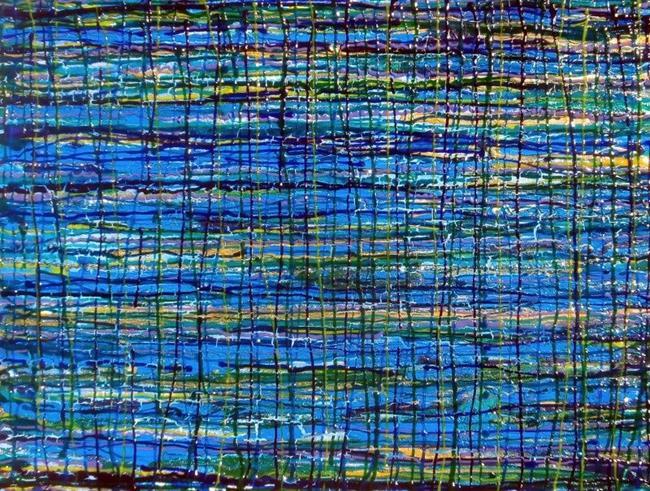 Art: DREAMS IN THE NIGHT - (SOLD) by Artist Dawn Hough Sebaugh