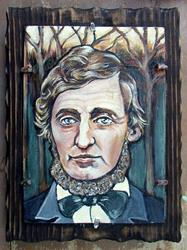 Art: Henry David Thoreau by Artist Patience