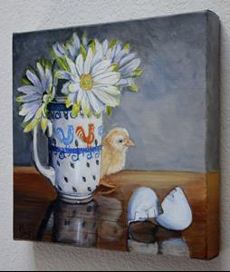 Detail Image for art Baby Chick: Polish Pottery XC