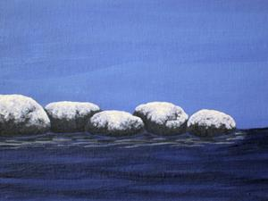 Detail Image for art Winter Seascape