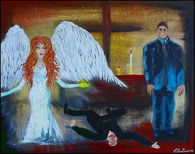 Art: Supernatural by Artist Laura Barbosa