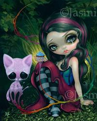 Art: Sweet Dreamers collaboration with Sugar Fueled by Artist Jasmine Ann Becket-Griffith