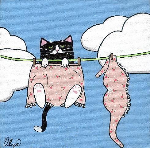 Art: ~granny panties~ by Artist S. Olga Linville