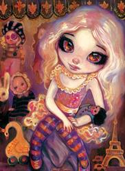 Art: Living Doll by Artist Natasha Wescoat