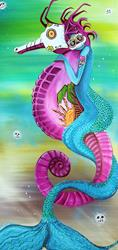 Art: Spirit Traveler by Artist Laura Barbosa