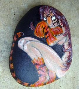 Detail Image for art Tiger Woman