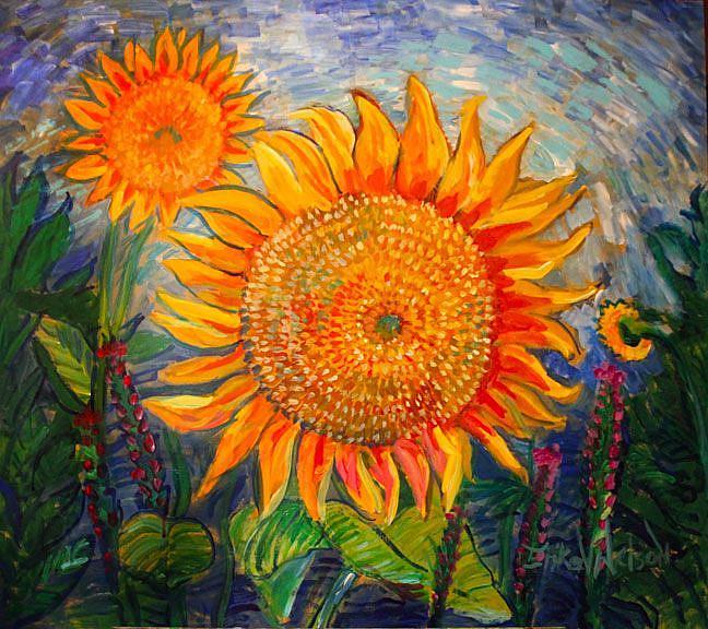 Art: sunny supersize by Artist Erika Nelson
