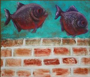 Detail Image for art Piranha