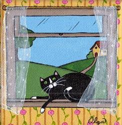 Art: breezy by Artist S. Olga Linville