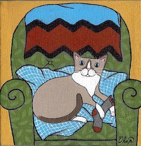 Art: Jackson by Artist S. Olga Linville