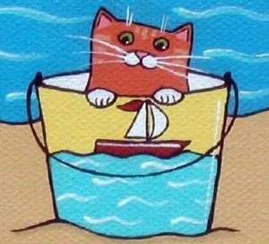 Detail Image for art ~crabby cat~