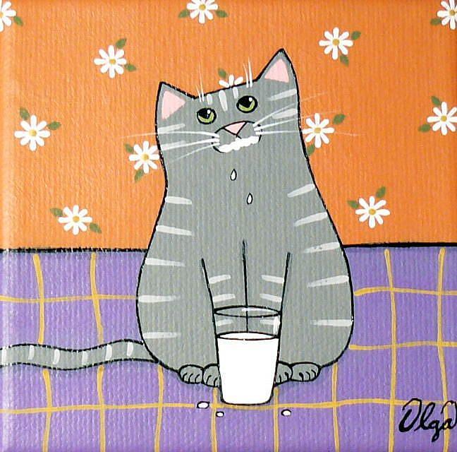 Art: ~got milk?~ by Artist S. Olga Linville